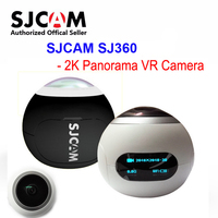 Original SJCAM SJ360 Panorama WiFi 2K 30fps Sports Action Camera 12MP Fisheye Lens 220 Degree FOV