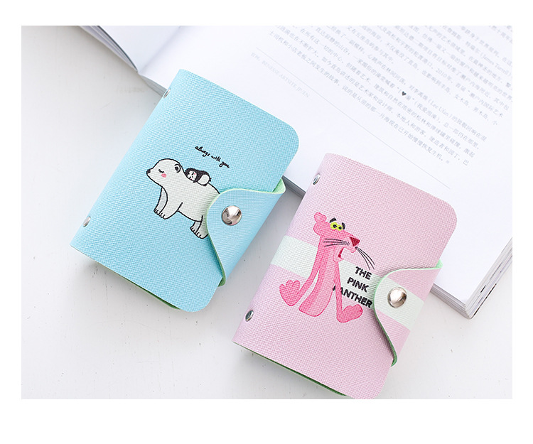 HTB1AbJKnwaTBuNjSszfq6xgfpXad - Women Leather Card Case Credit Card Holder Student Cute Cartoon ID Cards Wallet Passport Business Card Holder Book Protector