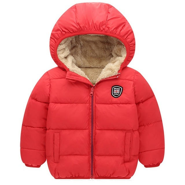 Warm Fur Hooded Coat for Kids