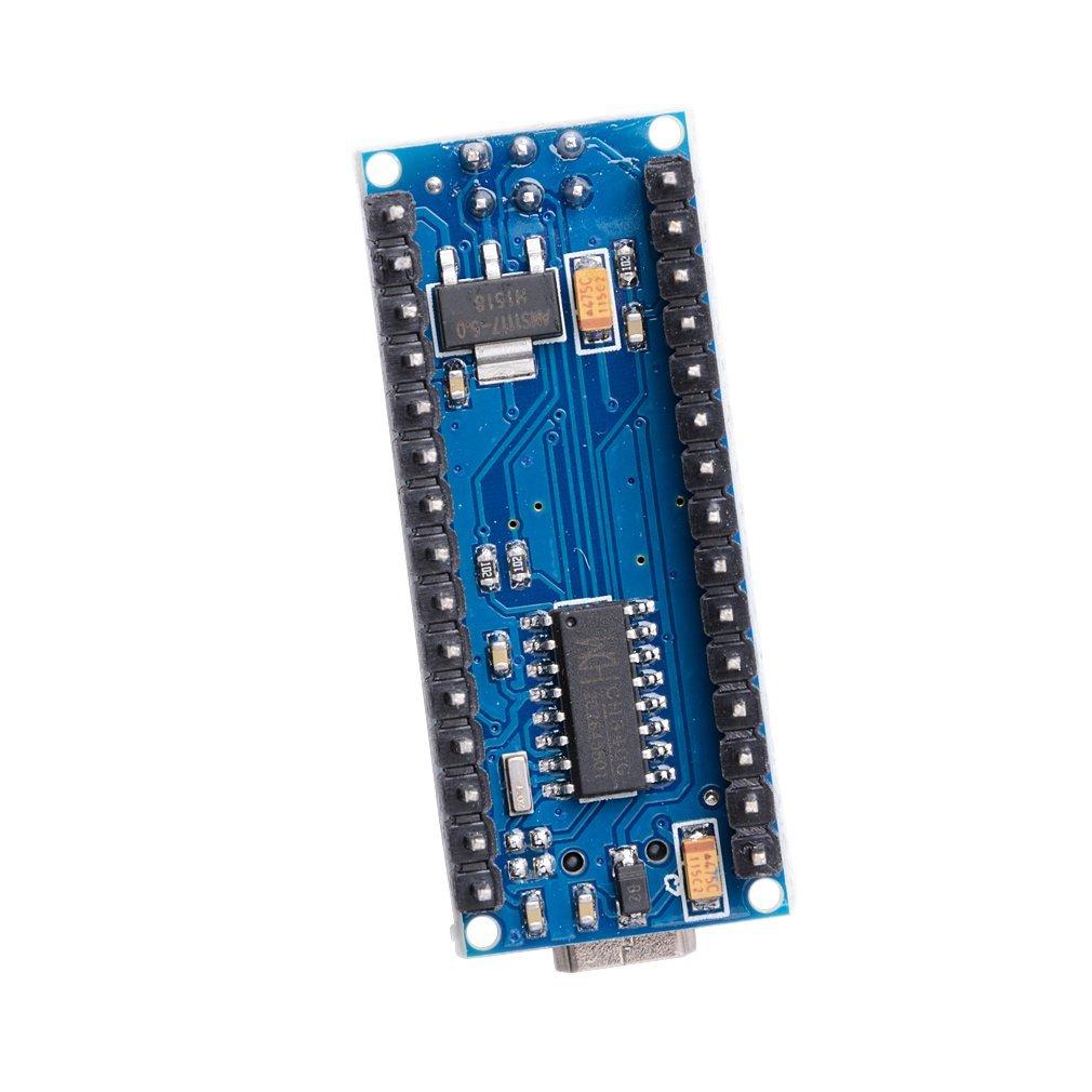 Płytka Nano CH340/ATmega328P bez kabla USB, kompatybilna z Arduino Nano V3.0 (bez kabla) 4