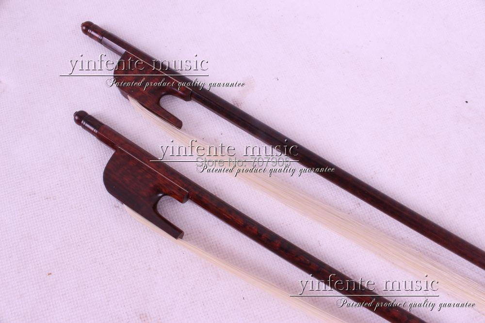 1  pcs  4/4 violin  Bow  Baroque  Snakewood   Ebony f  rog High Quality New 8 # 3 pcs 4 4 violin bow baroque ebony straight high quality r3 1