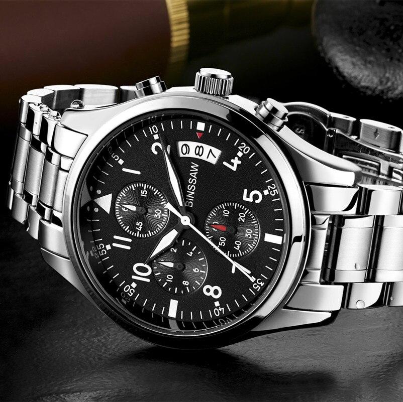 6ba84fa94e1 Relógios de Quartzo luxo dos homens de moda Tipo de Ítem   Wristwatches