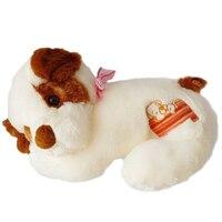 1 unid 50 cm Mentira Felpa Perro de Juguete Con Personal Animales de Juguete Brinquedos Regalo de Navidad