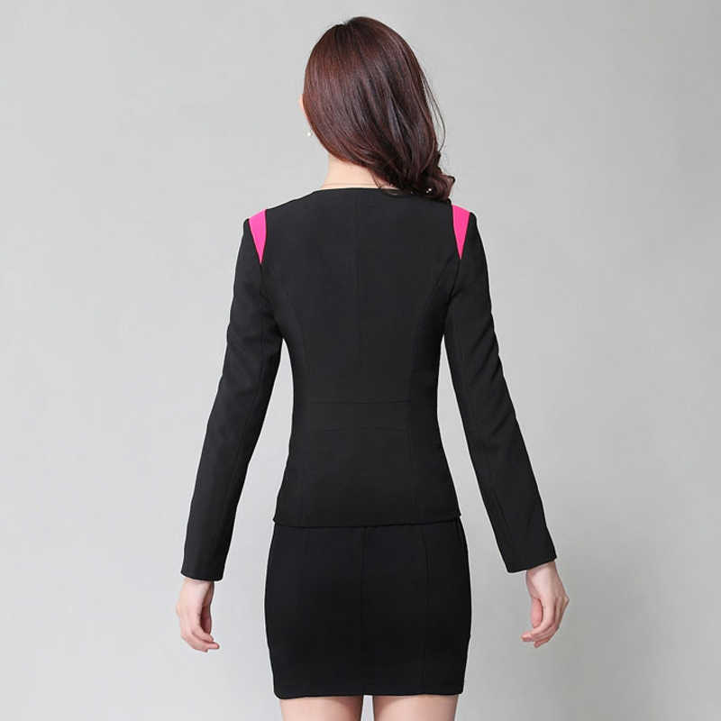 281d61a297 Dress Suit Women 2019 New Arrival Women Business Suits Formal Office Suits  Work Female Slim Fit Elegant Office Uniform 4XL Plus
