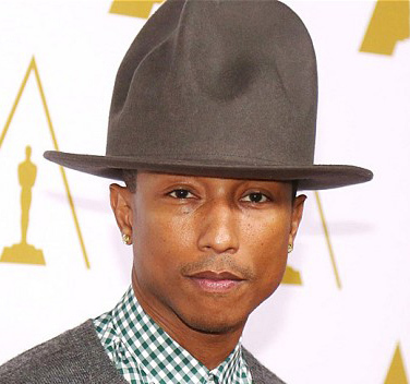 2015 new mountain hat Buffalo hat 100% wool felt Happy Hat Pharrell Williams  celebrity style fedora hats for men women 960f0669176