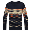 M-5XL Autumn winter pullover men knit christmas sweater men brand 2016 stylish jumpers mens sweaters with deer pull homme marque