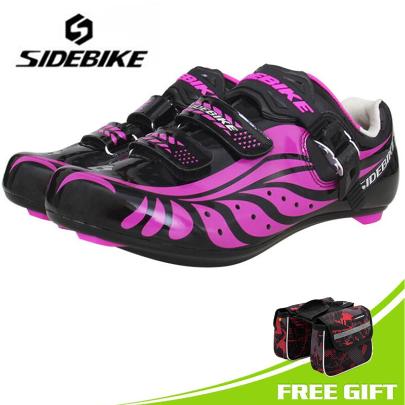 SIDEBIKE cycling shoes off road women racing bike shoes self-locking bicycle speakers athletic ultralight professional shoes motachie road cycling shoes mtb racing mountain bike shoes men road bike athletic bicycle speakers self locking professional
