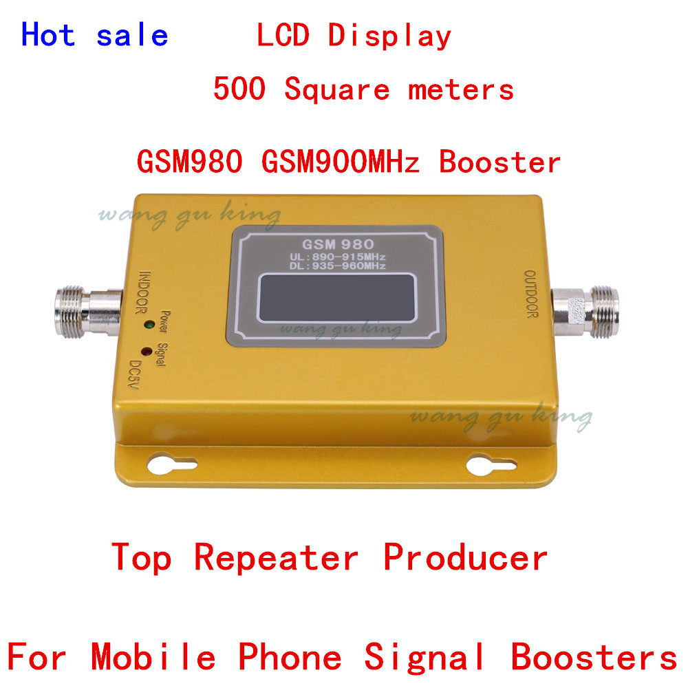 For Russia GSM 980 20dbm Power LCD Display Phone Booster Repeater GSM 900mhz Repeater Booster,GSM Signal Booster Gsm Booster