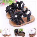 2015 Summer Cute Flower Rubber Sole Baby Shoes Toddler Infants First Walkers