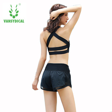 2pcs Women  Bra with Shorts or Leggings  Suits Fitness Workout Clothes Quick Dry  Sets