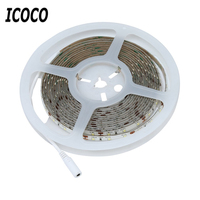 ICOCO High Quality 5M 300 LEDs Waterproof Hand Wave Sensor LED Strip Lamp Dimmable Cabinet LED