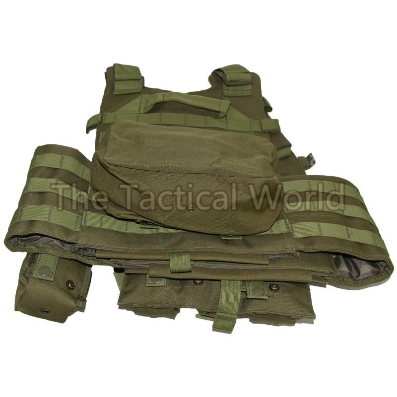 Tactique chasse Airsoft gilet peut mettre plaque transporteur munitions corps Molle chargement ours tir armée vêtements gilets accessoires - 4