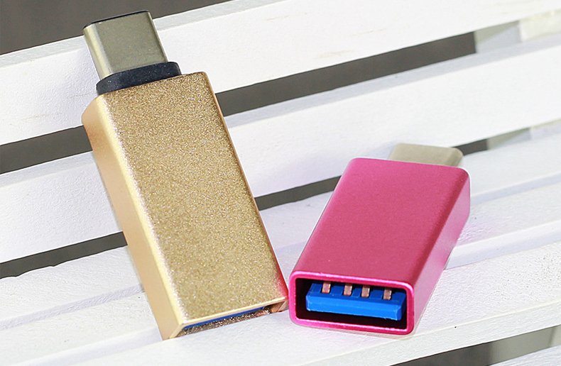 Цена за 20 шт./лот Металла USB 3.1 Type C OTG Адаптер Мужчина к USB 3.0 женский адаптер конвертер otg функции для macbook google chromebook