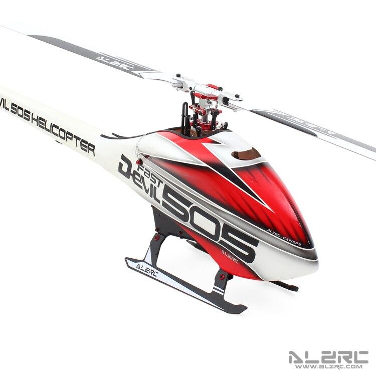 ALZRC Devil 505 VELOCE RC Elicottero Super Combo Con Pentium 120A V4 ESC In negozio-in Componenti e accessori da Giocattoli e hobby su  Gruppo 2