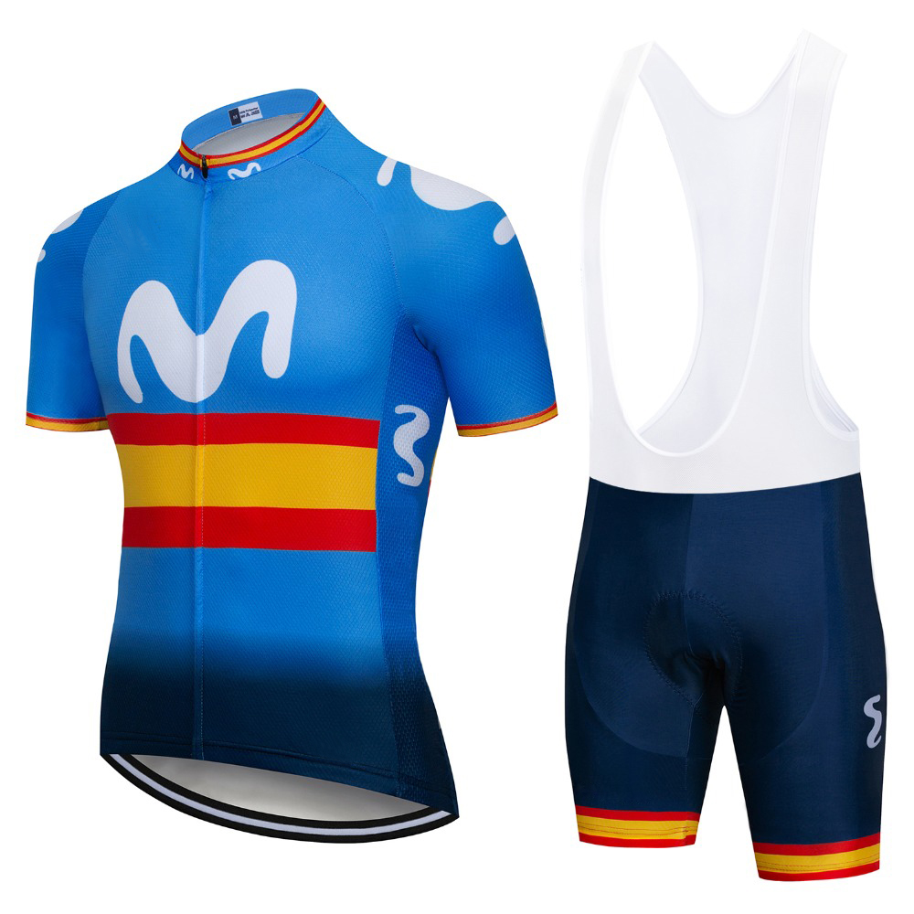 Team Cycling Jersey Top Summer Mountain Bike Sportswear Short Sleeve Bicycle Clothes Maillot Ropa Ciclismo Cycling