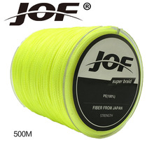 4 Srtands PE Braided 500M Fishing Line 10LBS To 100LB Multifilament Fishing Accessories