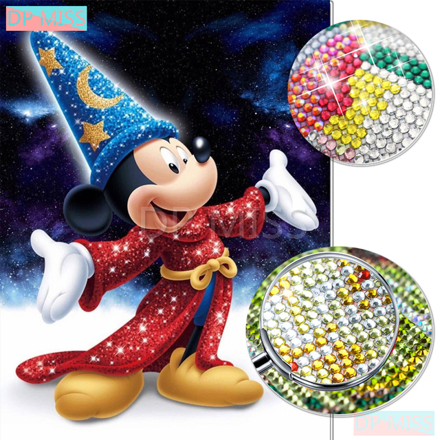 d0c618c6c0 Partial 5D Crystal Round Drill Diamond Painting