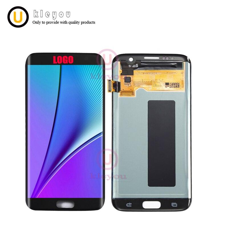 100% D'origine LCD De Remplacement LCD Pour Samsung Galaxy S7 Bord G935 G935F G935A G935FD G935P LCD Affichage Écran Tactile Digitizer