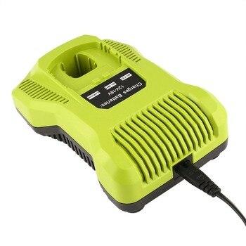 Batería Ryobi 12v | Reemplazo Del Cargador De 12 V-18 V Para Ryobi P117 Batería Recargable Batería Herramienta Eléctrica Tecnología Inteligente Con Cargador Cable