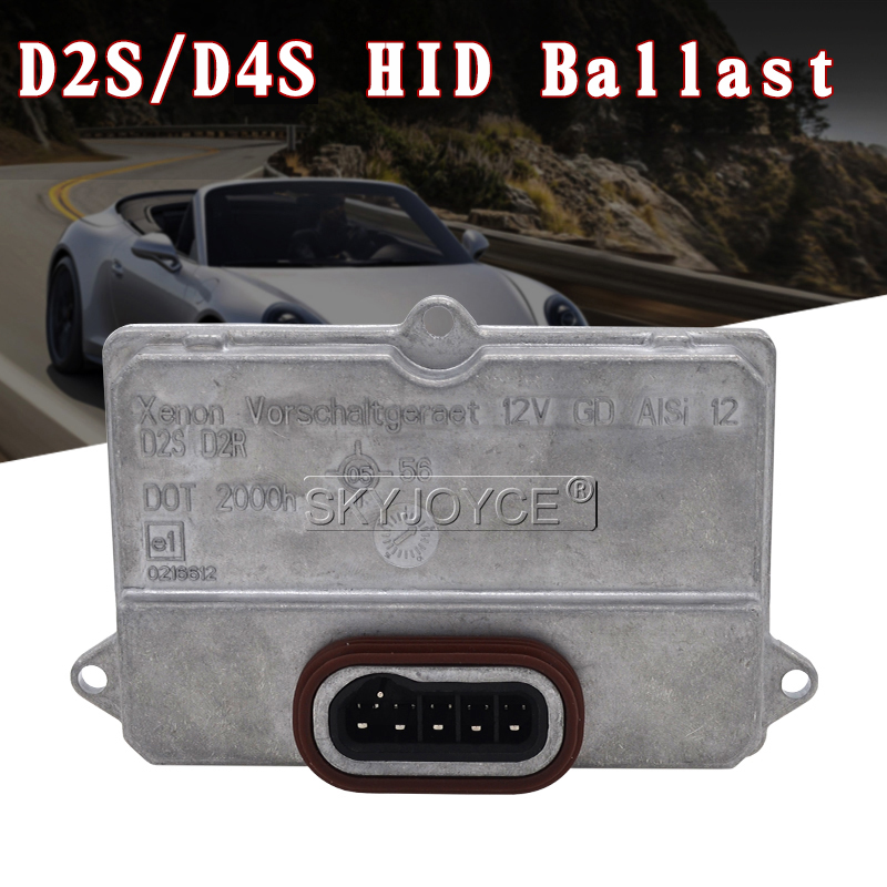 SKYJOYCE 100% 5DV 008 290-00 4E0907476 63126907488 Hella HID Xenon Ballast D2S D4S D4R For BMW Jaguar Mercedes Saab Replacement (14)