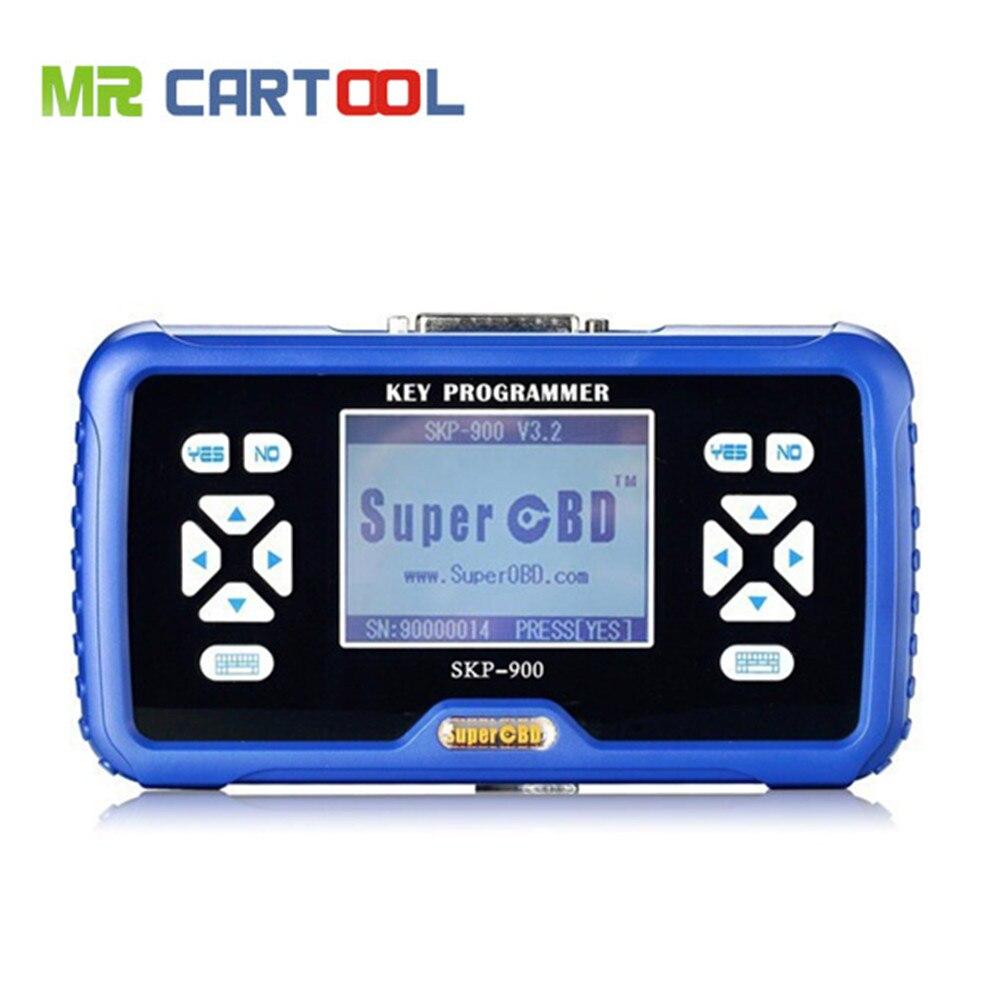 Promotion Original SuperOBD SKP900 Auto Key Programmer V4 3 SKP 900 Key Programmer NO Tokens Limitation