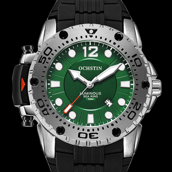 2019 New Mens watch OCHSTIN top brand luxury Fashion Sport Watch Quartz Waterproof Military Silicone Strap Wrist Relogio