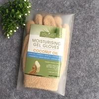 Genuine Australia Moisturizing Gel Gloves With Coconut Oil Hand Care Treatment Repair Dry Hard Skin Hand