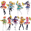 "Free Shipping 7"" Love Live! Anime Full Set All 9 Members Movie Ver. Boxed 17cm PVC Action Figure Collection Model Doll Toy Gift"