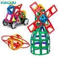 Big Size 158 Pcs Magnetische Blokken Magnetische Designer Bouw 3D Model Magnetische Blokken Educatief Speelgoed Voor Kinderen