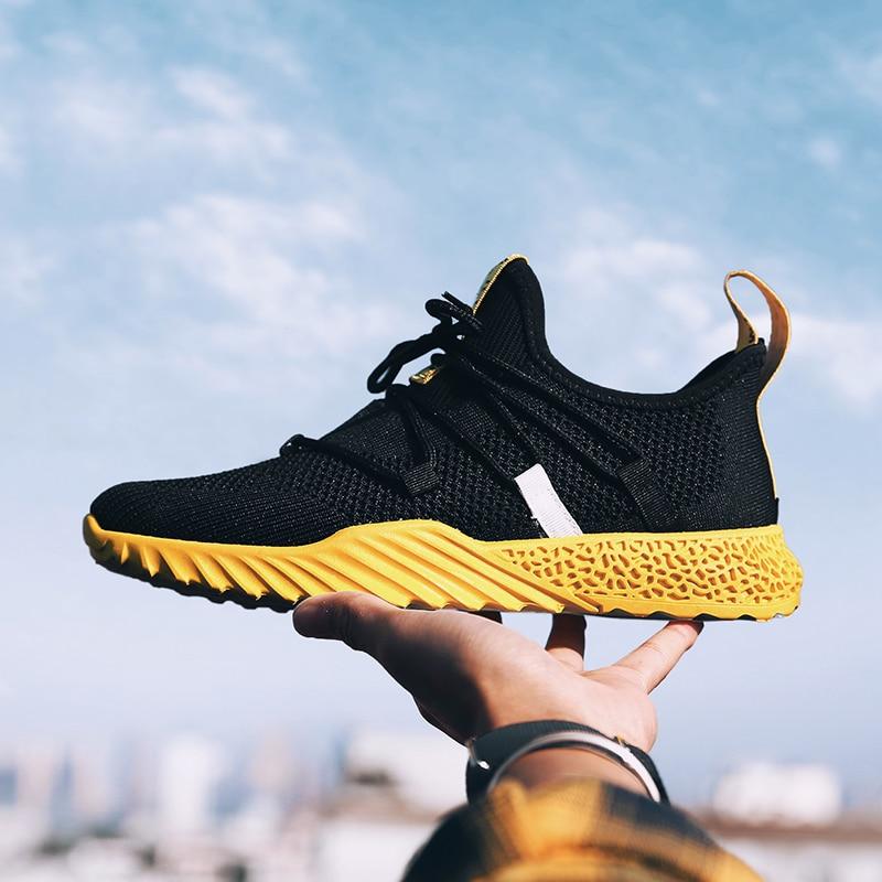 HTB1AbNbJVzqK1RjSZSgq6ApAVXa0 2019 New Casual Shoes Men Breathable Autumn Summer Mesh Shoes Sneakers Fashionable Breathable Lightweight Movement Shoes