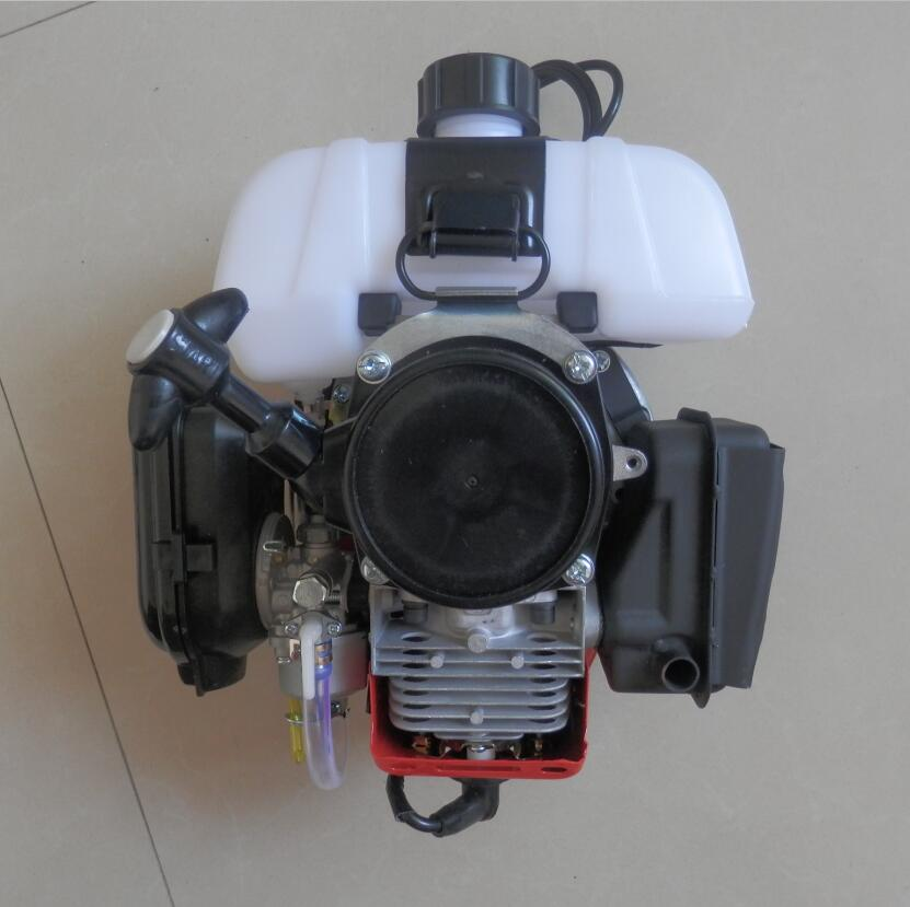 TD40 GASOLINE ENGINE FOR POWERED BY MINI 2 CYCLE 40CC PETROL MOTOR SHOULDER BACKPACK BRUSHCUTTERS STRIMMERS SPRAYER SCOOTER etc.