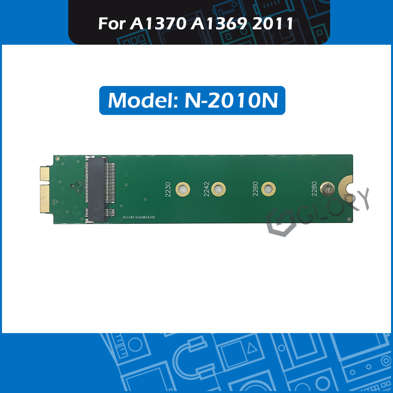 Full New M 2 NGFF SSD adapter card N 2010N for MacBook Air 11 13 A1370