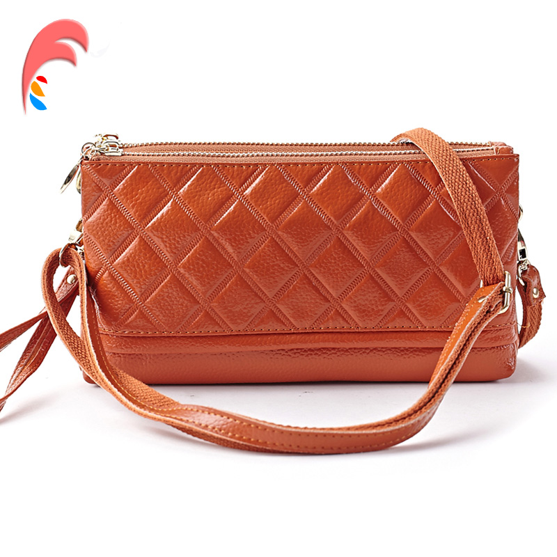 Handbag Fashion Genuine Leather  Crossbody Bag Women Shoulder Bag Luxury Zipper Messenger bag Ladies Clutch Bolsas Femininas сумка через плечо bolsas femininas couro sac femininas couro designer clutch famous brand