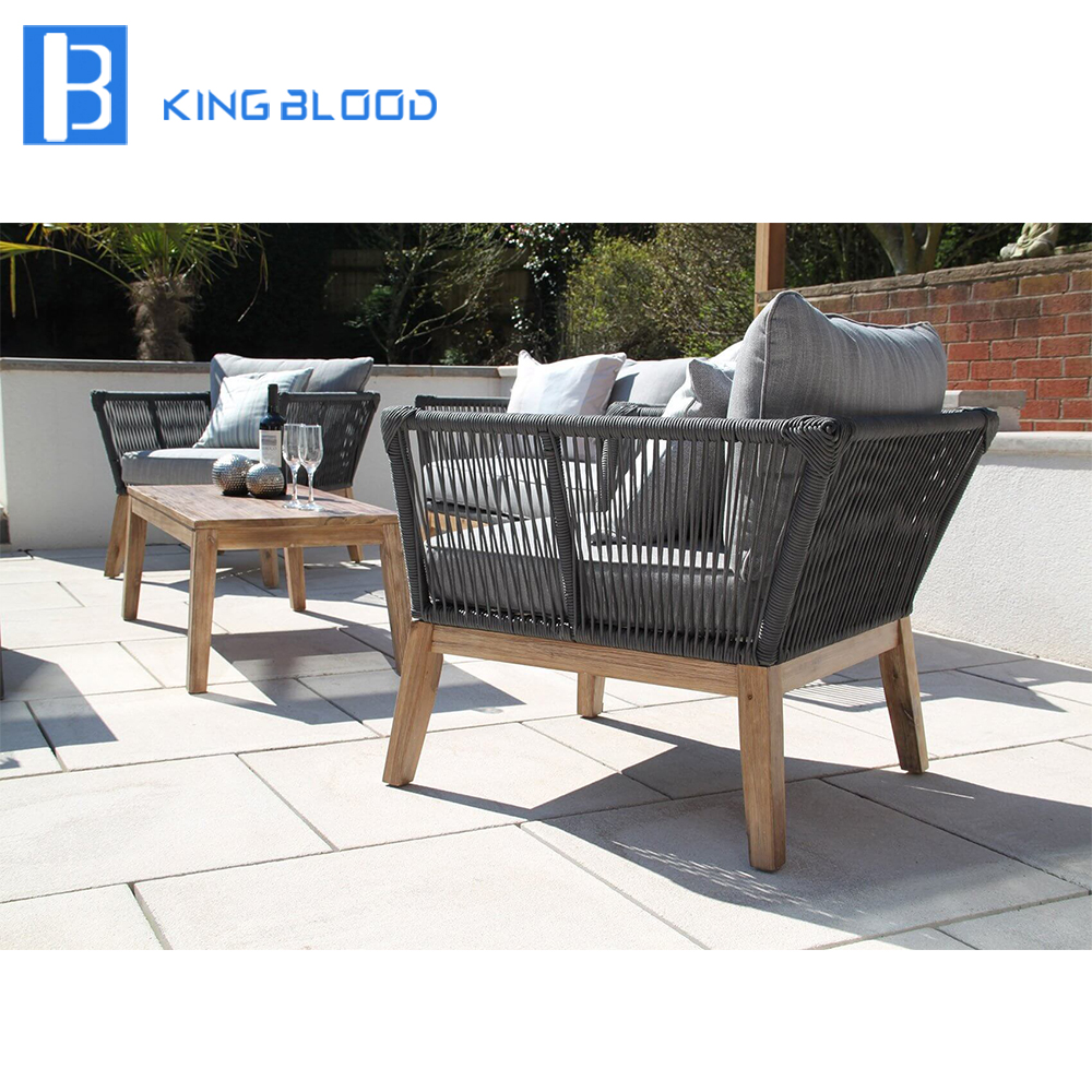 Rope Patio Furniture.Us 1000 0 Use For Hotel Public Area Round Rope Furniture Outdoor Sofa Set In Garden Sofas From Furniture On Aliexpress Com Alibaba Group