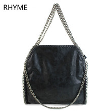 Rhyme Women Bag Shoulder Bag Falabellas Tasche with 3 Chains Evening Bolso Socialite Tote Fashion Sac A Main Lady Torba