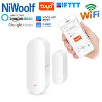 Tuya WiFi Door Detector Door Window Detectors Open / Close Sensor Compatible With Google Home/Alexa/IFTTT Smart Life APP