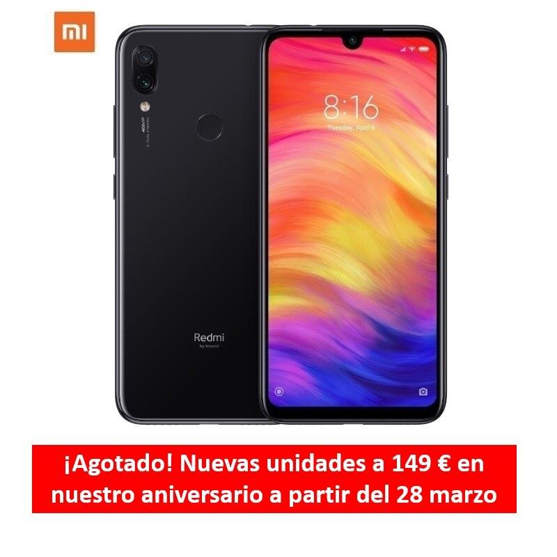 [Versión Española] Smartphone Xiaomi Redmi Note 7 de 6.3 (Android, ROM 32 GB, RAM 3 GB, Cámara Trasera 48 MP) Negro, Azul