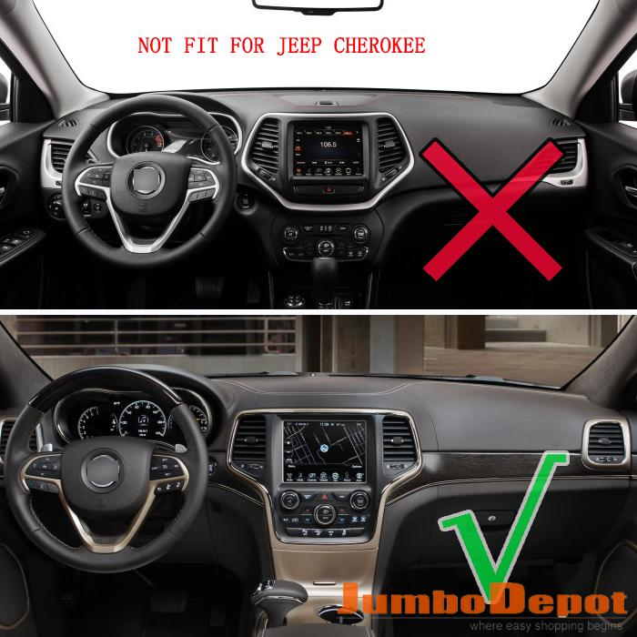 Xukey Fit For 2017 2016 Jeep Grand Cherokee Dashboard Cover Dashmat Dash Mat Pad Sun Shade Board Carpet In Protective Frames From