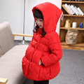 Quality Baby Girls Cold Winter Thick Warm Down Jackets Hooded Coats Cute Fashion Princess Outwear Coats for Children Kids