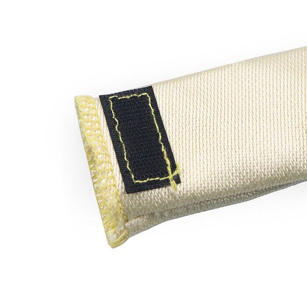 1 Pcs Welding Finger Sleeve Tips for Welding Gloves Insulation High Temperature Resistant Fiberglass Finger Sleeve