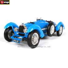 Bburago 1:18 1934 Bugatti Type Classic Car Alloy Retro Car Model Classic Car Model Car Decoration Collection gift недорого