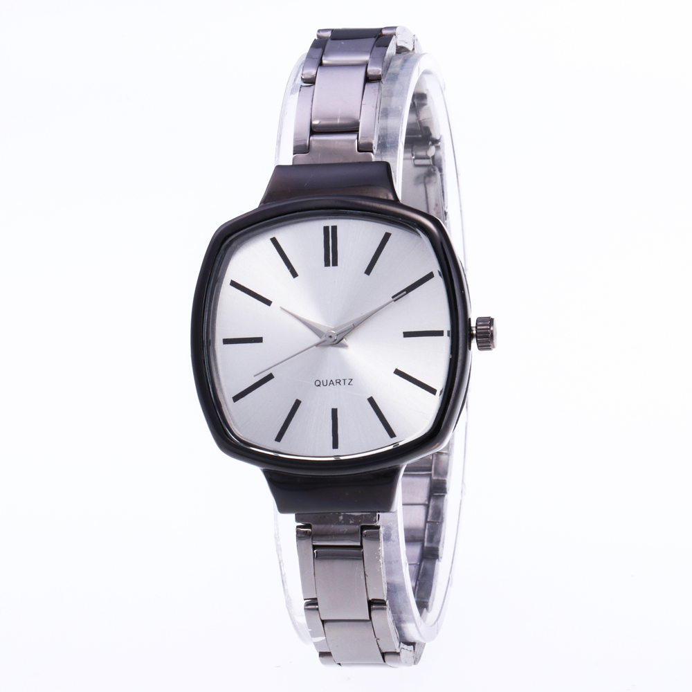 bayan kol saati Women Watches Brand Unique Square Dial Quartz Wristwatches Casual Steel Womens Watch Gifts Relogio Feminino