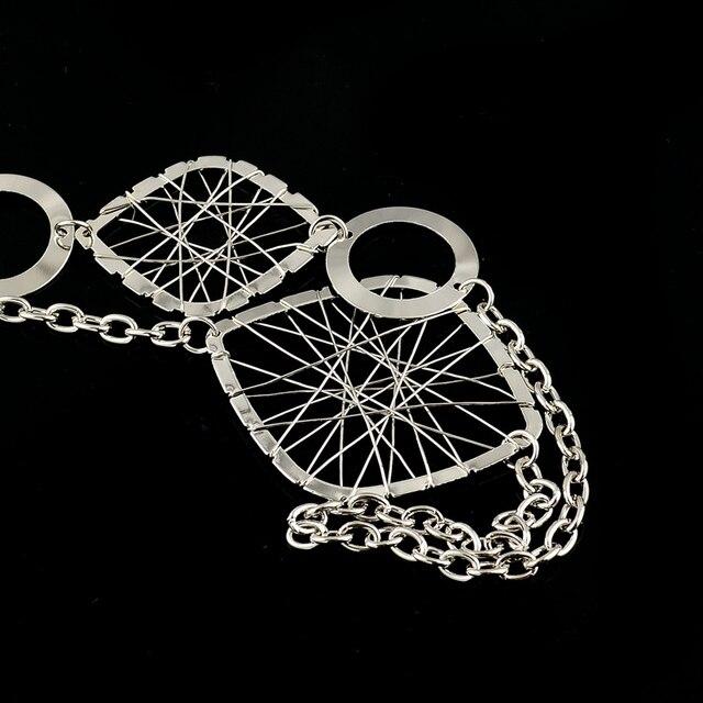 Фото chicvie женское ожерелье серебряного цвета ретро воротник полые цена