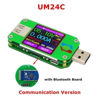 RD UM24C UM24 USB 2 0 Color LCD Display Tester Voltage Current Power Temp Meter