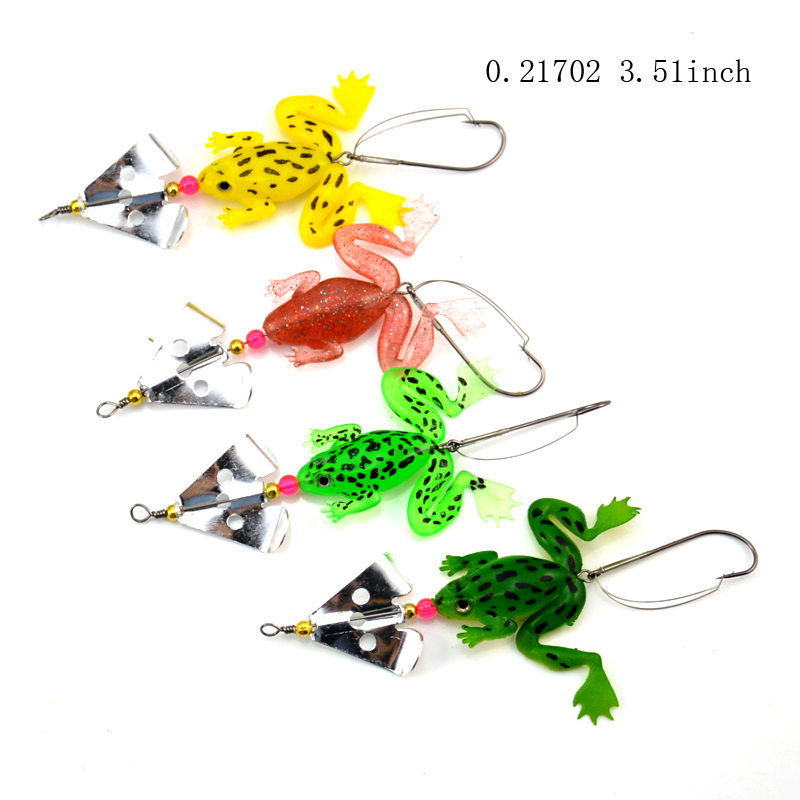 JOSHNESE Fishing Lure Mixed 4 models fishing tackle 3.5cm/6.2g Minnow lure Crank Lures Mix fishing bait Frog Fishing lures 101pcs set almighty fishing lures kit with box hard soft bait minnow spoon crank shrimp jig lure fishing tackle accessories