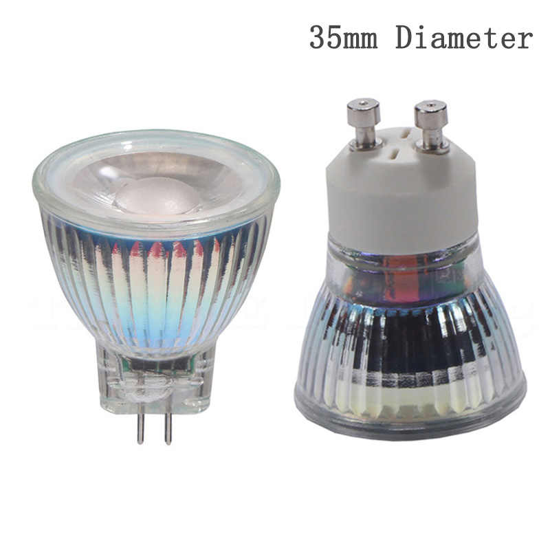 Mini GU10 MR11 LED lamp bulb 7W 110V 220V LED Spotlight bulb 12V Dimmable LED light Cold White Warm White replace halogen light