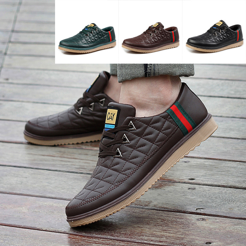 2013 New Mens Shoes British Daily Casual Shoes Mens Skateboard Minimalist Trend Of -1723