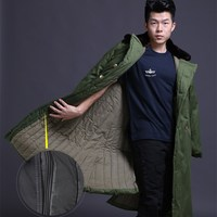 Winter Men's Outdoor Tactical Army Combat Cotton Coat Thickening liner Detachable Jackets Camping Cold proof Windproof Overcoats