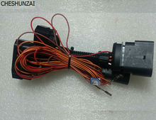 Cheshunzai HID подключение проводов 10 до 12 Булавки Разъем Ксеноновые фары адаптер для VW Jetta MK5
