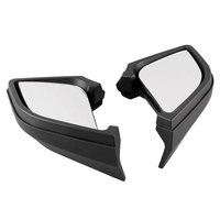 Motorcycle Plastic Left & Right Rear View Mirrors For BMW R1200RT 2005 2006 2007 2008 2009 2010 2011